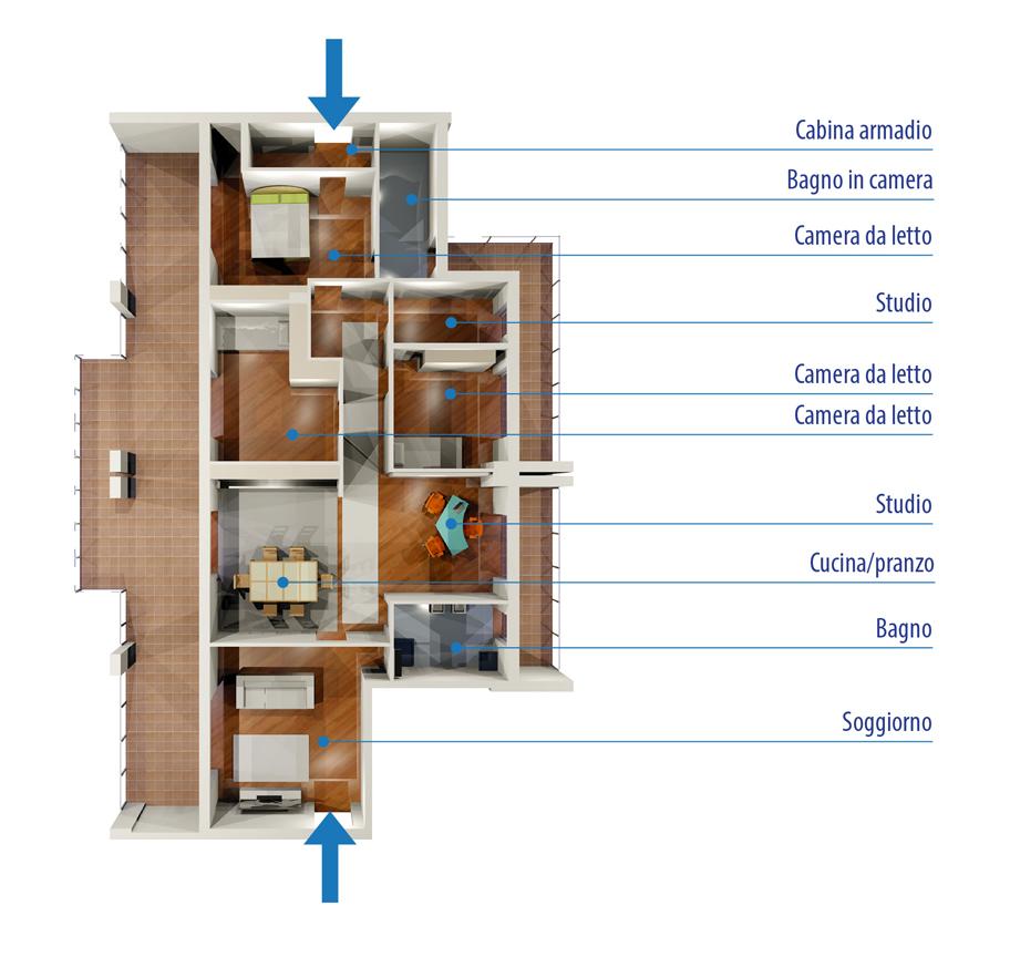 Best progettare camera da letto online contemporary for Progettare camera da letto online