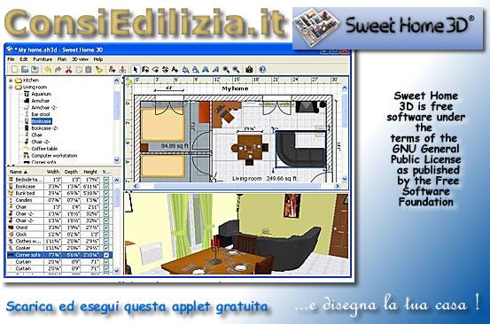 Disegna la tua casa in 3d for Programma per disegnare bagni 3d gratis italiano